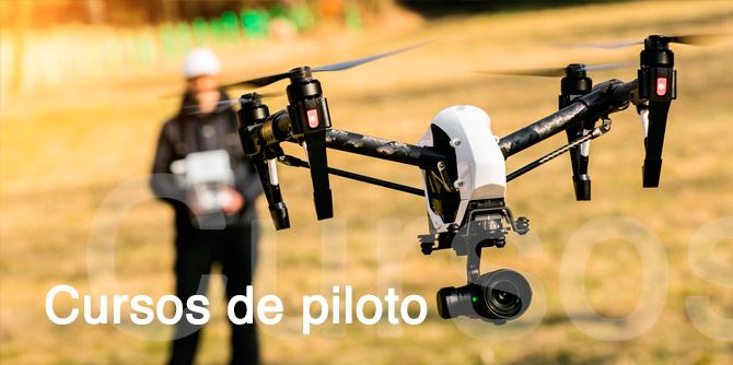 Cursos de piloto profesional de drones en Cantabria