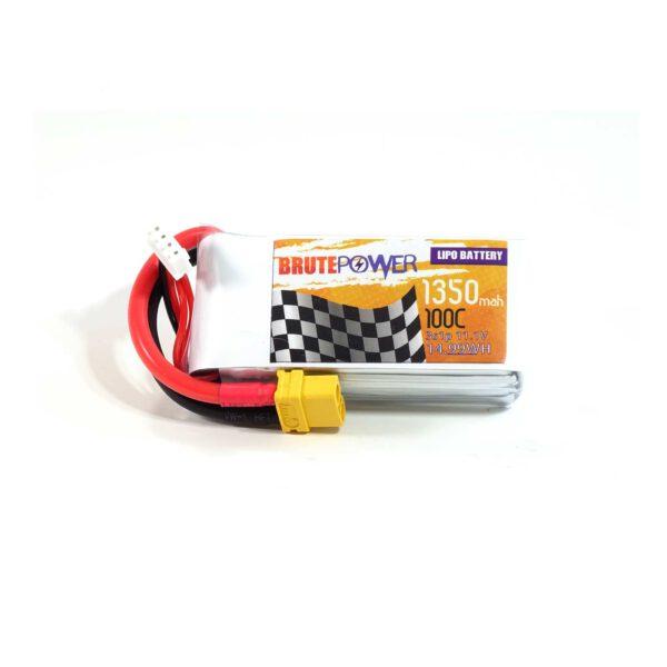 Batería LIPO BrutePower 3S 1350mah 100C