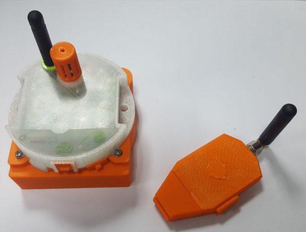 Sensor ambiental decosistema