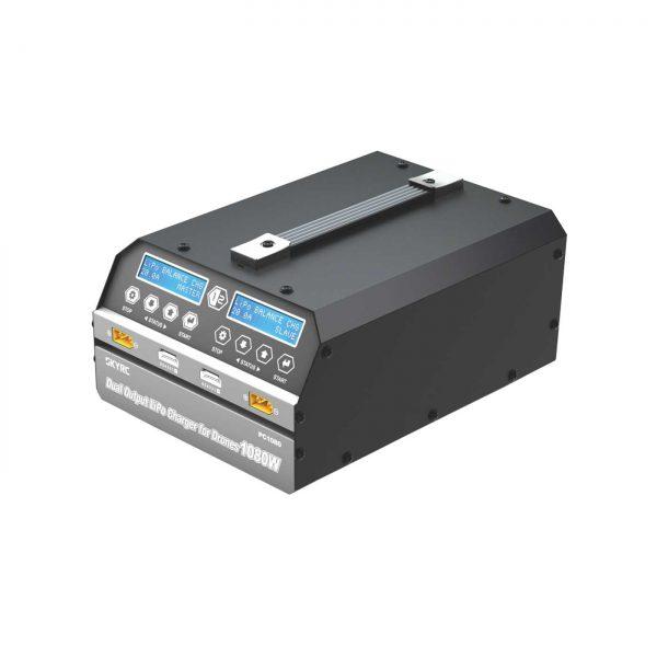 CARGADOR SKYRC PC1080 AC/DC 2 SALIDAS 1080W El mejor cargador profesional para baterias lipo