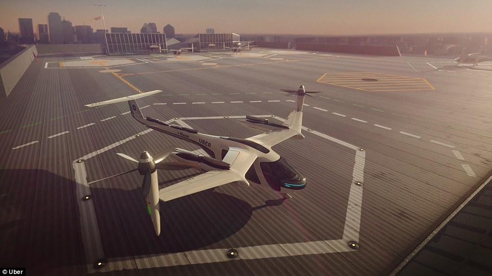 Los taxis aéreos de UberAir prestaran servicio en Los Ángeles en 2020