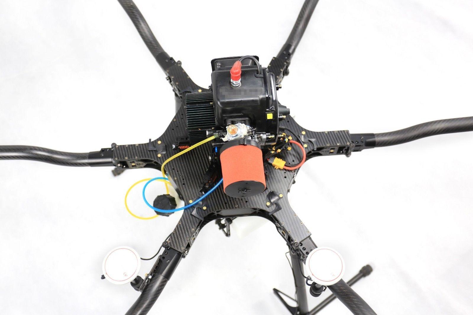 Nuevo récord de autonomía en un dron multirrotor