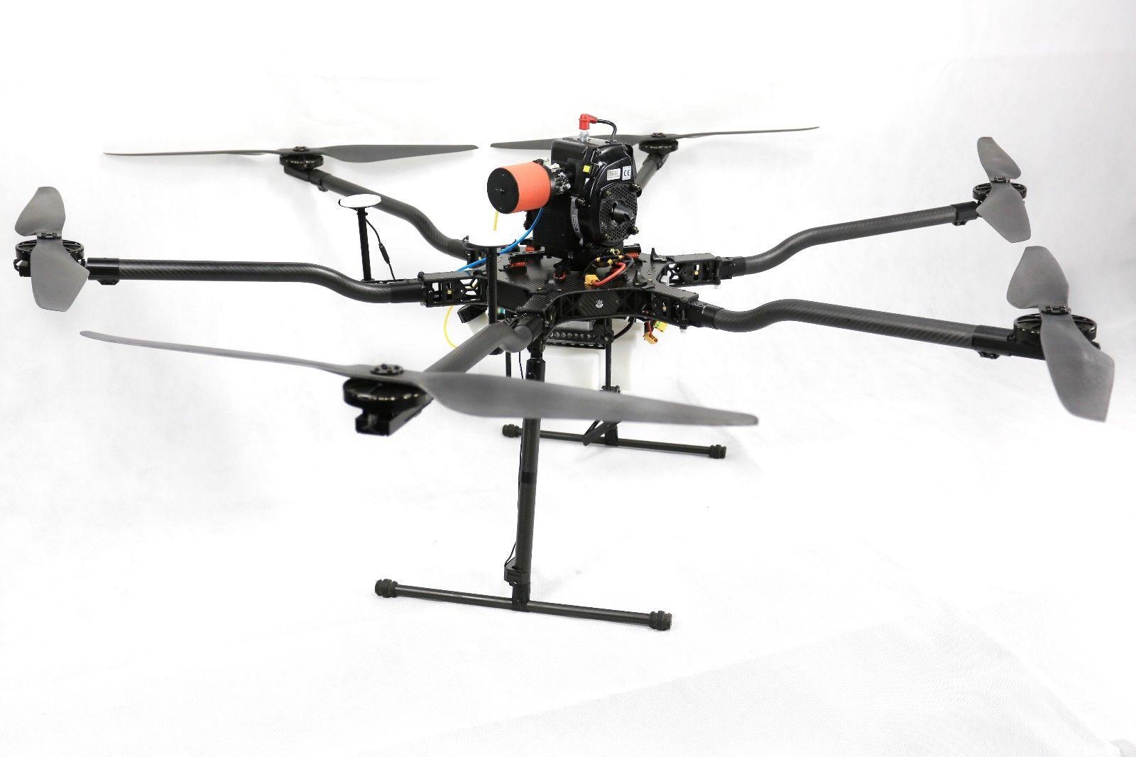 Dron hibrido de gasolina