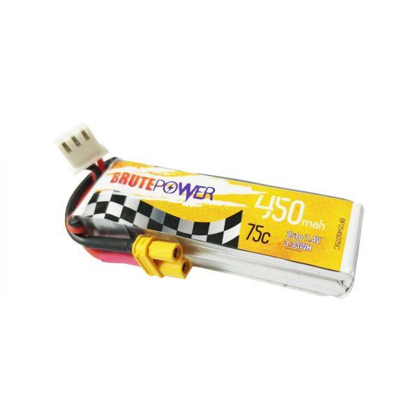 Batería LIPO BrutePower 2S 450mah 75C