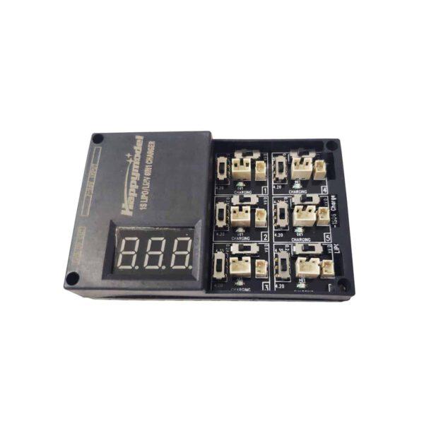 Cargador 6x Baterías Lipo/HV 1s
