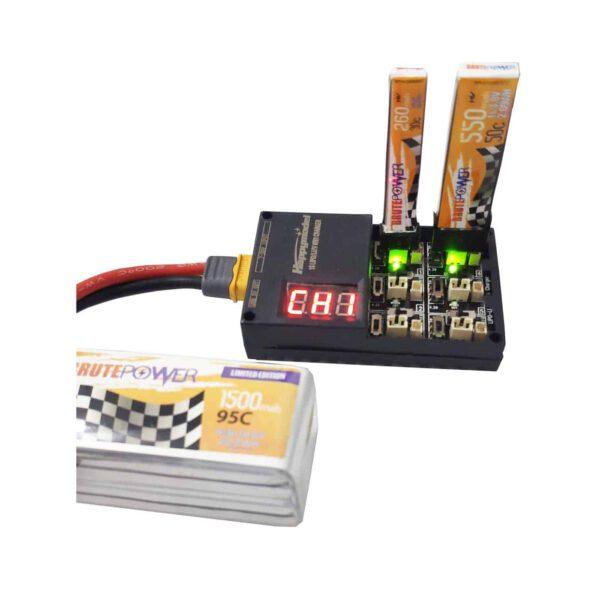 Cargador Baterías Lipo/HV 1s
