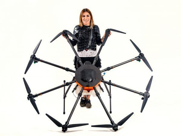 Dron de agricultura