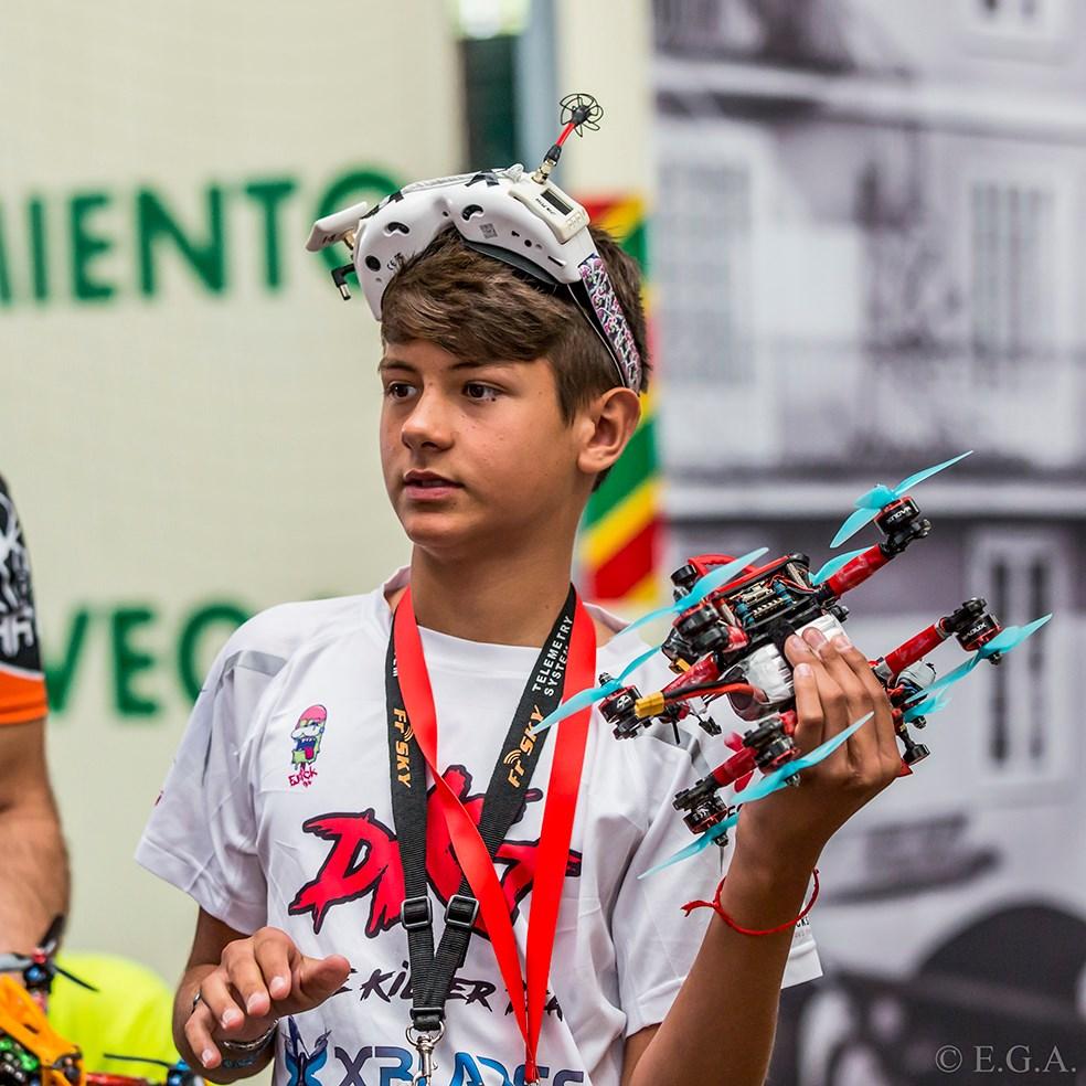 Carreras de Drones en Cantabria