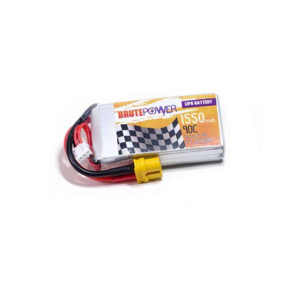 Batería LIPO 2s 7.4V 1550mah 90C