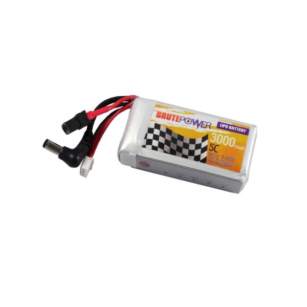 Batería LIPO para Fatshark 2S 3000m
