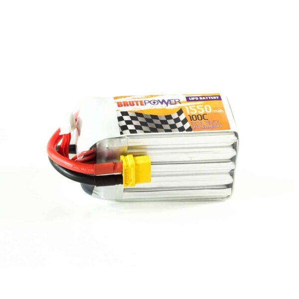 Batería LIPO BrutePower 5S 1550mah 100C