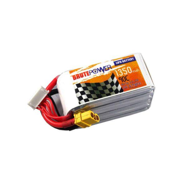 Batería Lipo Brutepower 6s 1350mah 90C